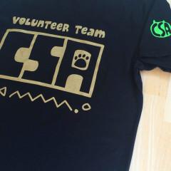 京都産業大学ボランティアチームCSA様 Tシャツ