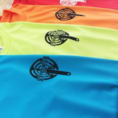 京都大学 サイクリング部様オリジナル Tシャツ 左胸プリント画像