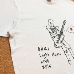 鴨沂高校軽音部様よりご注文のTシャツ画像
